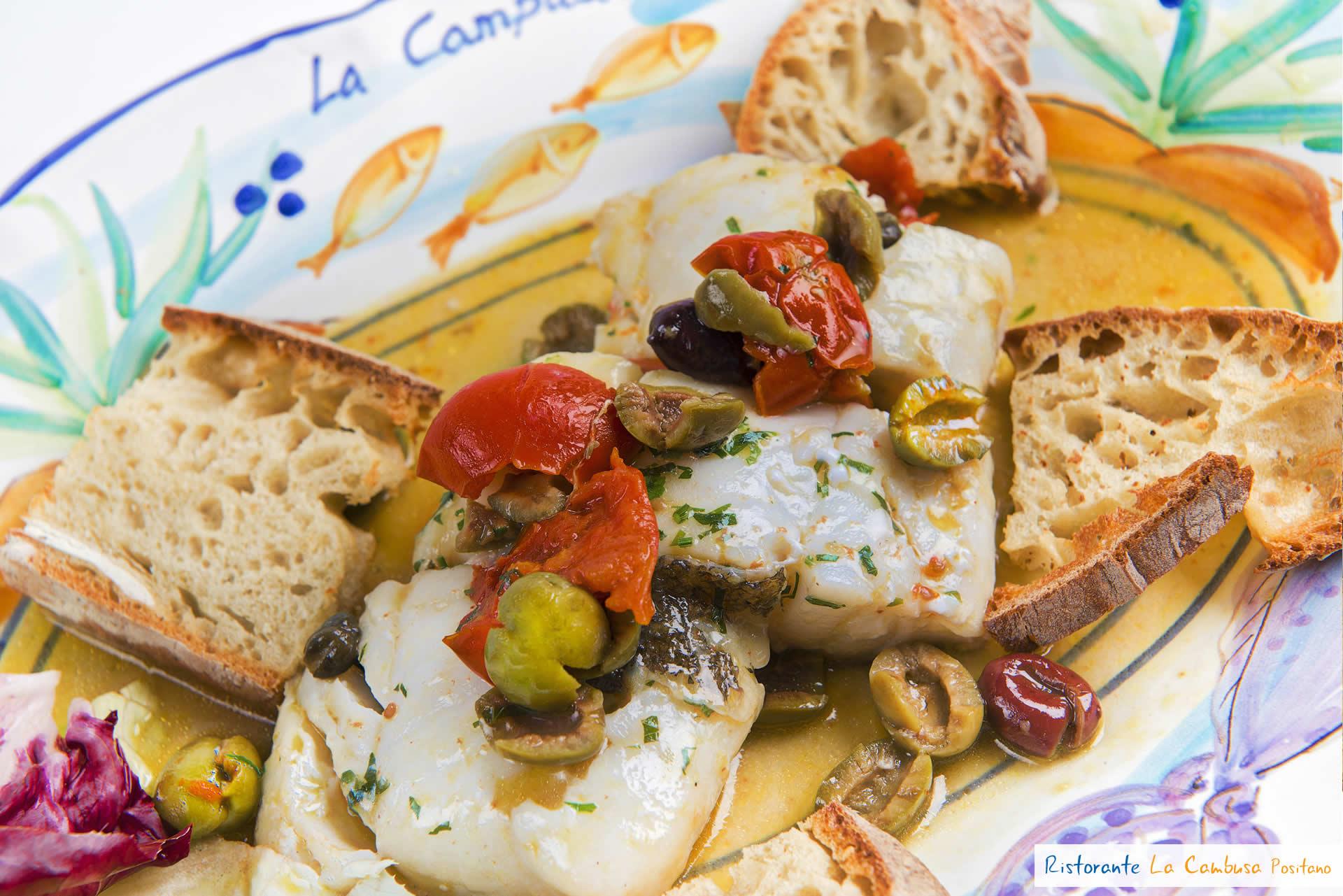 Menu restaurant la cambusa positano italy amalfi coast for Amalfi coast cuisine